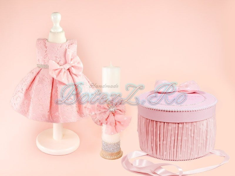 Trusou Botez Bella Pink Botezzro Trusouri Hainute Pentru