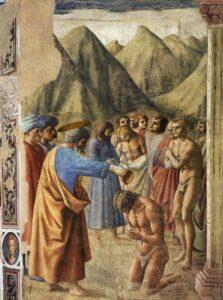 Istoria botezului si a trusoului de botez